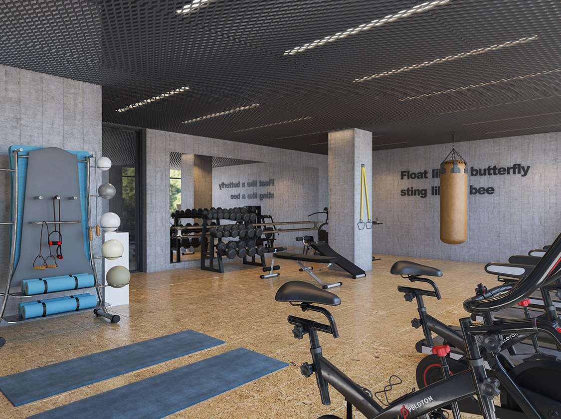 brooklyn condo fitness center
